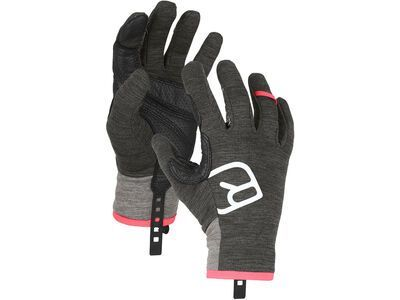 Ortovox Fleece Light Glove W, dark grey blend - Skihandschuhe