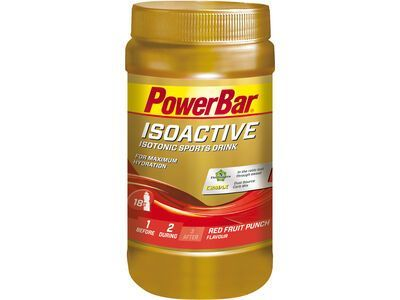 PowerBar Isoactive - Red Fruit Punch 600 g - Getränkepulver