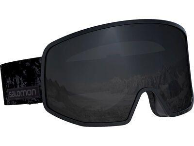 Salomon Lo Fi, black tie/dye/Lens: ml black - Skibrille