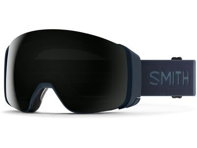 Smith 4D Mag inkl. WS, french navy/Lens: cp sun black - Skibrille