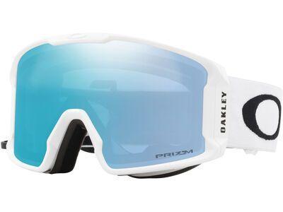 Oakley Line Miner XL Prizm, matte white/Lens: sapphire iridium - Skibrille