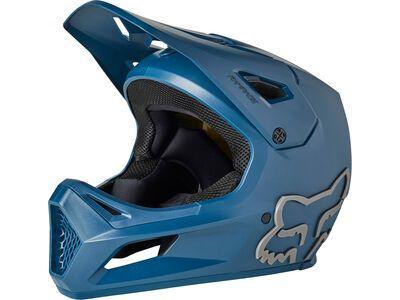 Fox Youth Rampage Helmet MIPS dark indigo