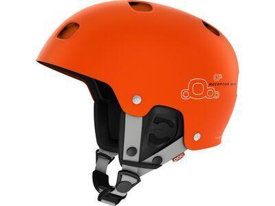 *** 2. Wahl *** POC Receptor Bug, iron orange - Skihelm | Größe M // 55-56 cm