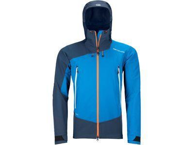 Ortovox Westalpen Softshell Jacket M, safety blue - Softshelljacke