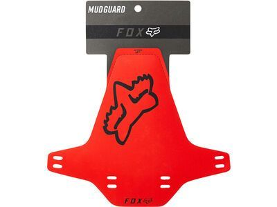 Fox Mud Guard red