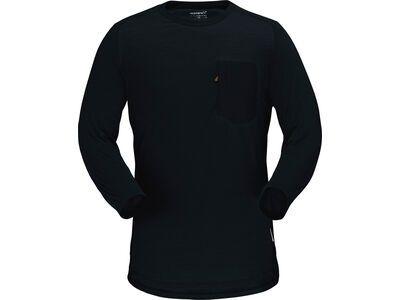 Norrona skibotn wool 3/4 T-shirt M's caviar