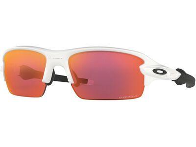 Oakley Flak XS Prizm, polished white/Lens: prizm field - Sportbrille