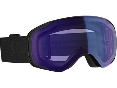 Scott Vapor, black /Lens: illuminator blue chrome - Skibrille