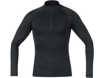 Gore Wear M Base Layer Thermo Stehkragenshirt, black