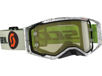 Scott Prospect Goggle Brendan Fairclough Signature Yellow Chrome Works kaki green/Lens: yellow chrome works