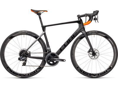 Cube Agree C:62 SLT 2021, carbon´n´orange - Rennrad