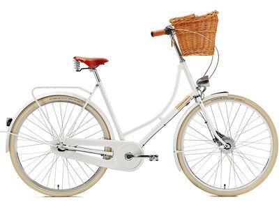 *** 2. Wahl *** Creme Cycles Holymoly Lady Doppio 2015, white - Cityrad | Rahmenhöhe 54 cm