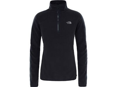 The North Face Women's 100 Glacier 1/4 Zip, tnf black - Fleecepullover