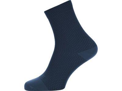 Gore Wear C3 Dot Socken Mid orbit blue / deep water blue