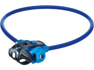 Trelock KS 211 Fixxgo Kids Kabelschloss, blue