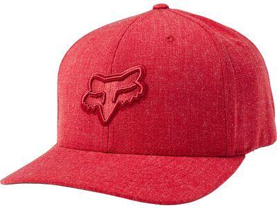 Fox Transposition Flexfit Hat, cardinal - Cap