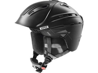 uvex p2us, black mat - Skihelm