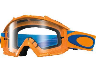 Oakley Proven MX Clear heritage racer orange/blue