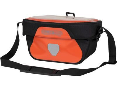 Ortlieb Ultimate Six Free 5 L, rust-black - Lenkertasche
