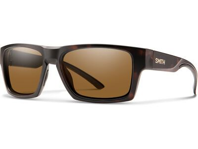 Smith Outlier 2, mat tortoise/Lens: cp polarized brown - Sonnenbrille