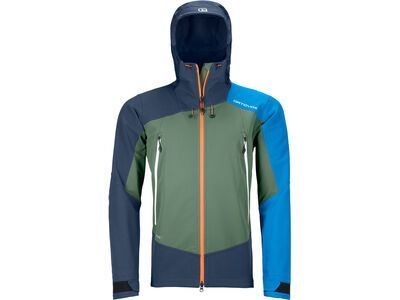 Ortovox Westalpen Softshell Jacket M, green forest - Softshelljacke