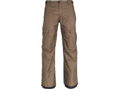 686 Men's Infinity Insulated Cargo Pant, khaki melange - Snowboardhose