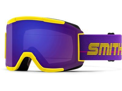 Smith Squad inkl. WS, yellow 93/Lens: cp everyday violet mir - Skibrille
