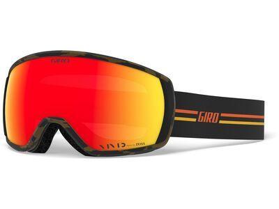 Giro Balance, gp black/orange/Lens: vivid ember - Skibrille
