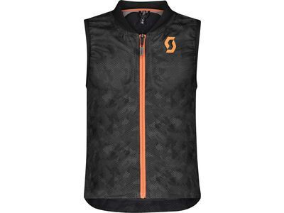 Scott AirFlex Junior Vest Protector, dark grey/pumpkin orange - Protektorenweste