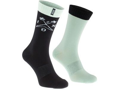 ION Socks Scrub, shallow green - Radsocken