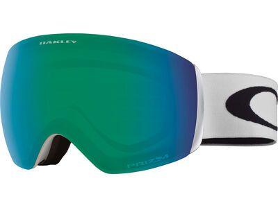 Oakley Flight Deck XM Prizm, matte white/Lens: jade iridium - Skibrille