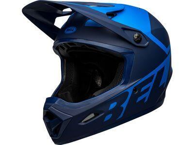 Bell Transfer, matte blue/dark blue