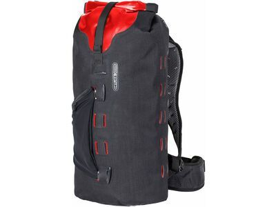Ortlieb Gear-Pack 25 L, black-red - Rucksack
