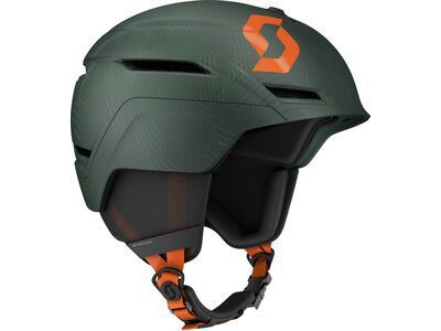 Scott Symbol 2 Plus Helmet, sombre green/pumpkin orange - Skihelm