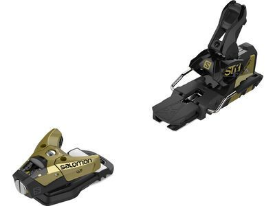Salomon STH2 WTR 16 90 mm, gold/black - Skibindung