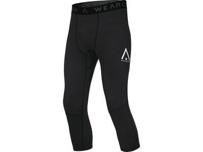 WearColour Range Pant, black - Fleecehose