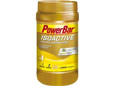 PowerBar Isoactive - Lemon 600 g - Getränkepulver