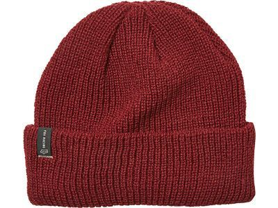 Fox Machinist Beanie, cranberry - Mütze