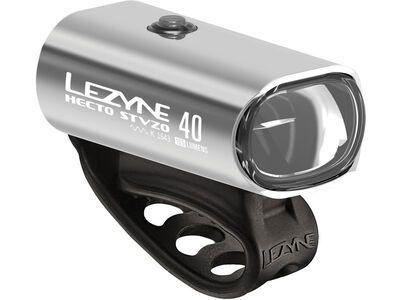 Lezyne Hecto Drive StVZO 40, silver - Beleuchtung