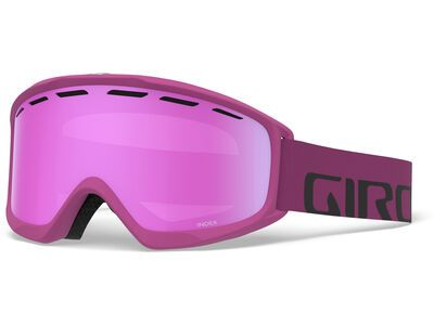 Giro Index, berry wordmark/Lens: vivid pink - Skibrille