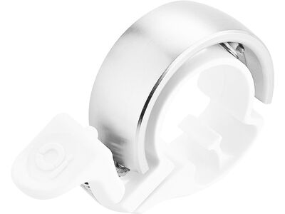 Knog Oi Classic - Large, white/silver - Fahrradklingel