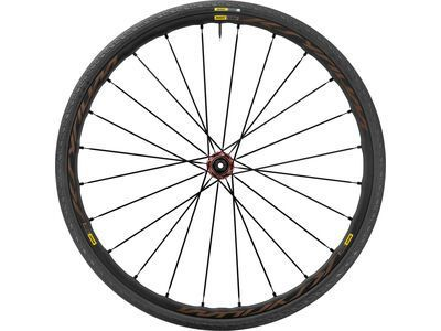 Mavic Ksyrium Elite Disc Allroad Center-Lock, black - Hinterrad