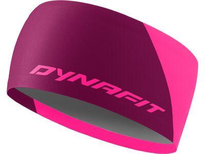 Dynafit Performance 2 Dry Headband pink glo