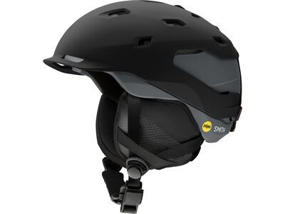Smith Quantum MIPS, matte black/charcoal - Snowboardhelm