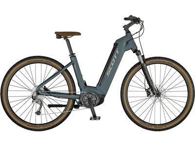 Scott Sub Cross eRide 30 Unisex petrol blue/gloss metal beige/black 2021