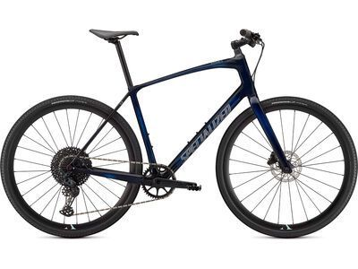 Specialized Sirrus X 5.0 gloss blue tint/ice blue/satin black reflective 2021