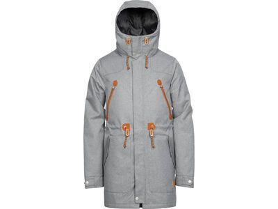 WearColour Urban Parka, grey melange