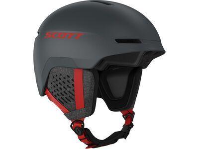 Scott Track, iron grey/red - Skihelm