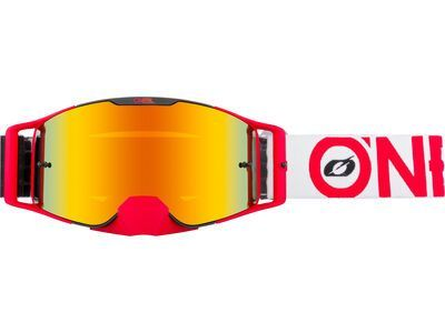 ONeal B-30 Goggle Bold – radium red black/red