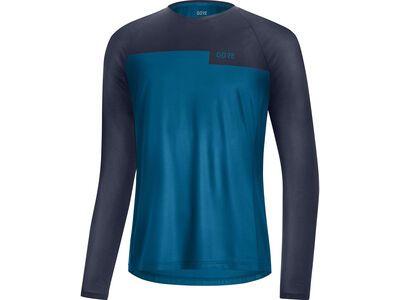 Gore Wear Trail LS Shirt sphere blue/orbit blue